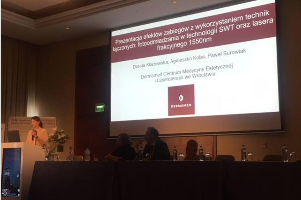 Wykład Doroty Kliszewskiej z Dermamed podczas XVIII Międzynarodowego Kongresu Medycyny Estetycznej i Anti-Aging PTMEiAA