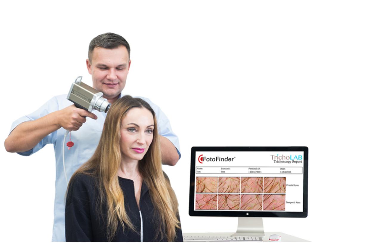 Wprowadziliśmy do naszej oferty badanie videotrichoskopowe Tricholab
