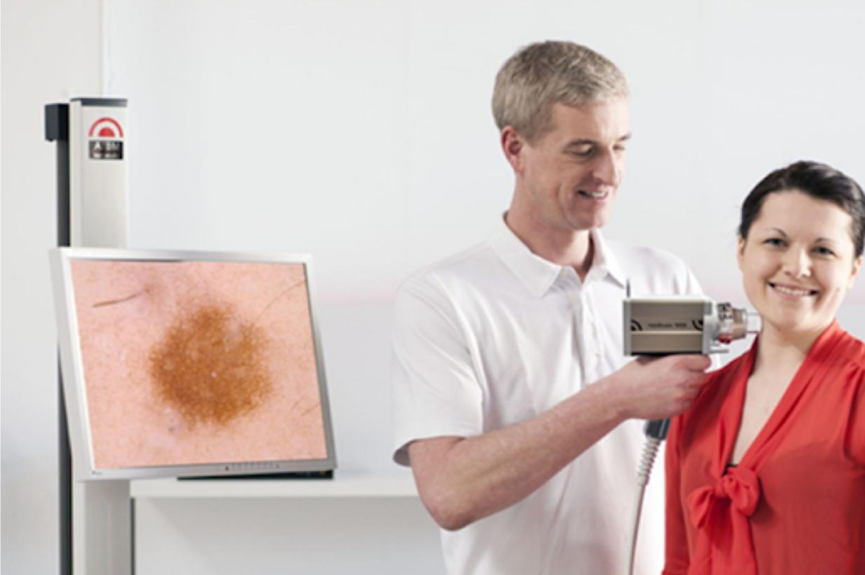 W Dermamed zainstalowaliśmy najndoskonalszy videodermatoskop – Fotofinder