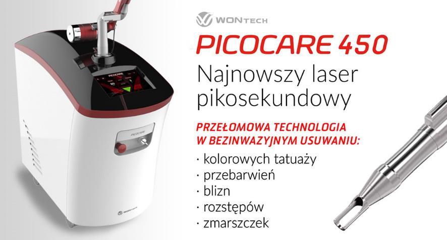 W Dermamed zainstalowaliśmy najnowocześniejszy laser pikosekundowy – PICOcare!