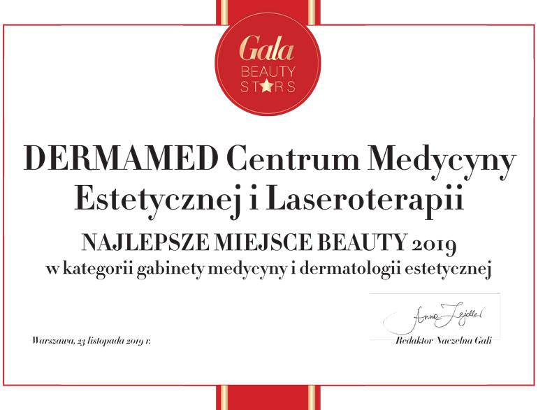 Dermamed najlepszym miejscem beauty w Polsce