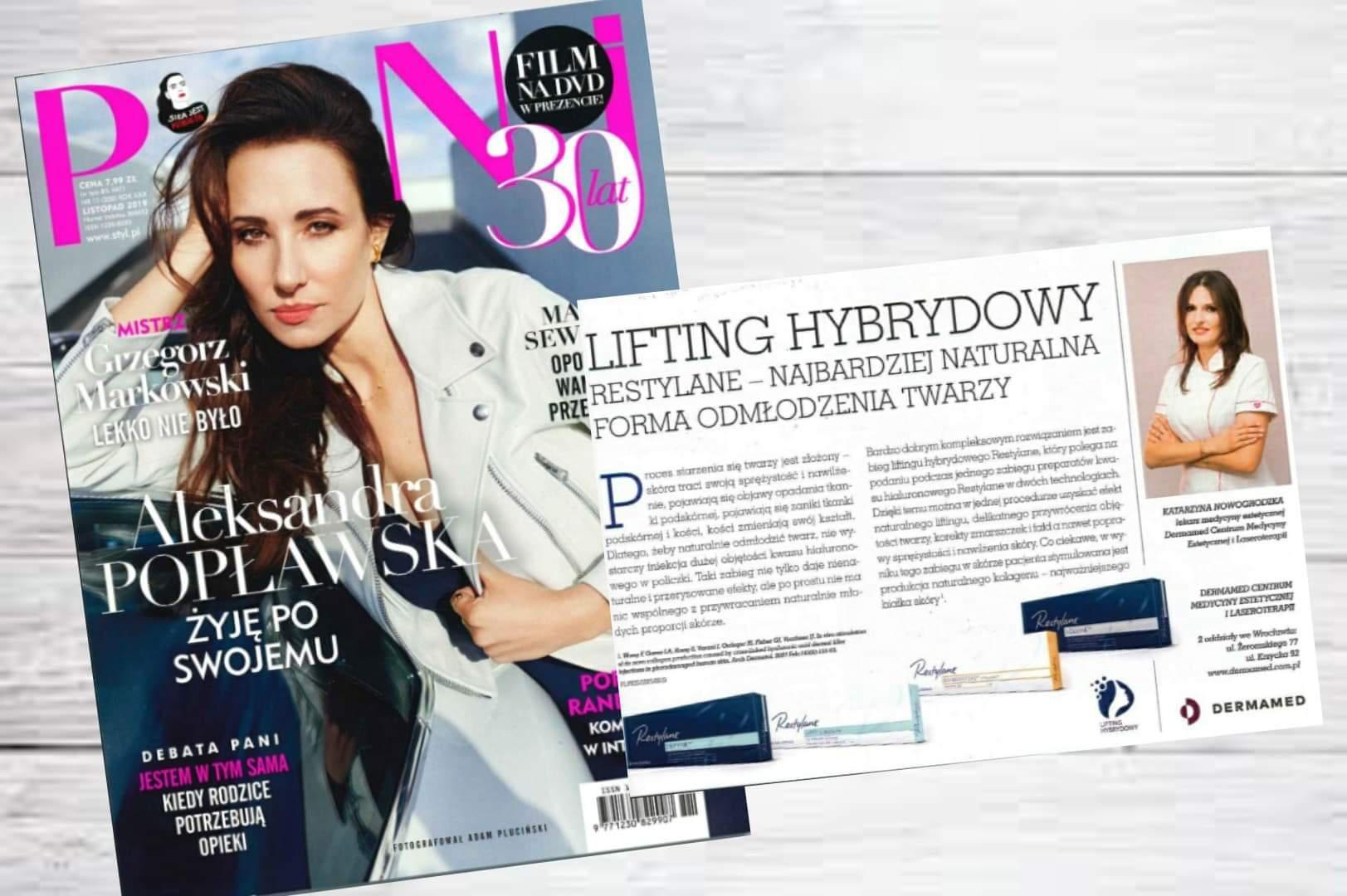 Wywiad z dr Katarzyną Nowogordzką ekspertem Dermamed w Pani!