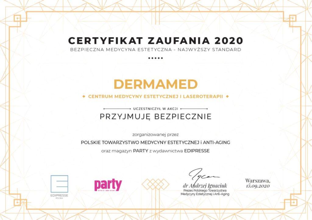 Profesor Paweł Surowiak z Dermamed na I Międzynarodowym e-Kongresie Medycyny Estetycznej i Anti-Aging